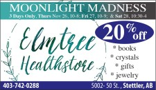 Elmtree Healthstore Moonlight Madness