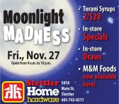 Stettler Home Hardware Moonlight Madness