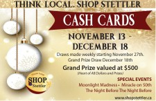 Shop Stettler CASH CARDS
