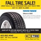 Fall Tire Sale!