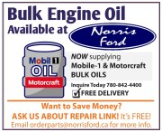 Bulk Engine Oil Available at Norris Ford