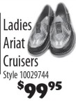 Ladies Ariat Cruisers