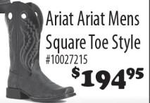 Ariat Mens Square Toe