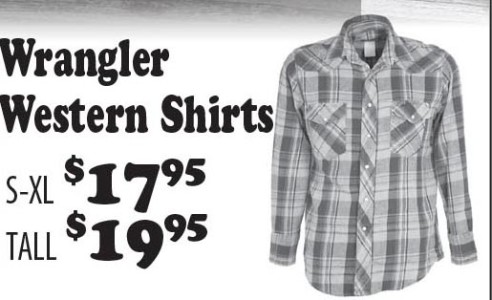 Wrangler Western Shirts
