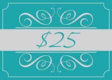 A Studio H Artist Group Gift Card for $25